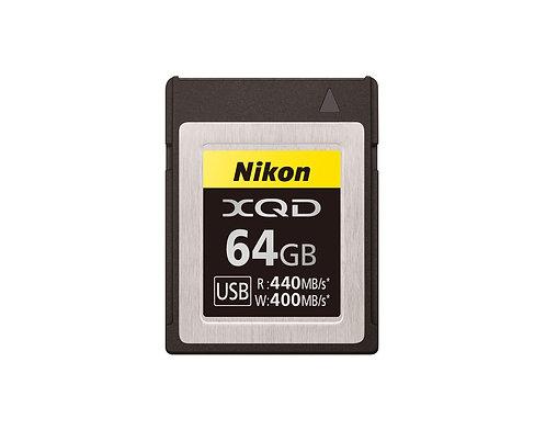 Nikon XQD G-Series Memory Card - 64GB