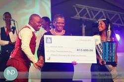 Award winner and Durban Mayor