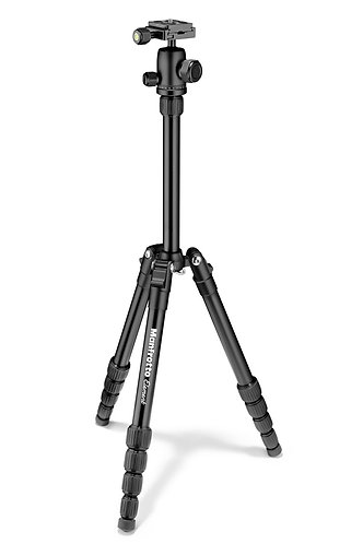 Manfrotto MKELES5BK-BH Element Traveller Small Black Tripod with Ball Head