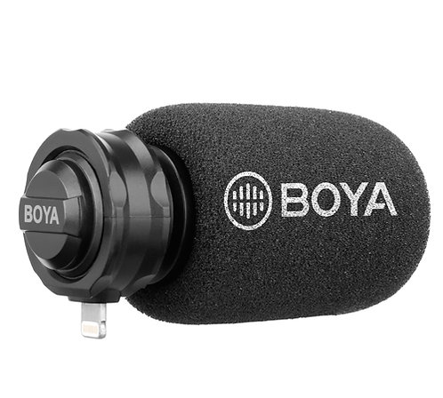 Boya BY-DM200 Digital Stereo Microphone with Lightning Connection for iOS