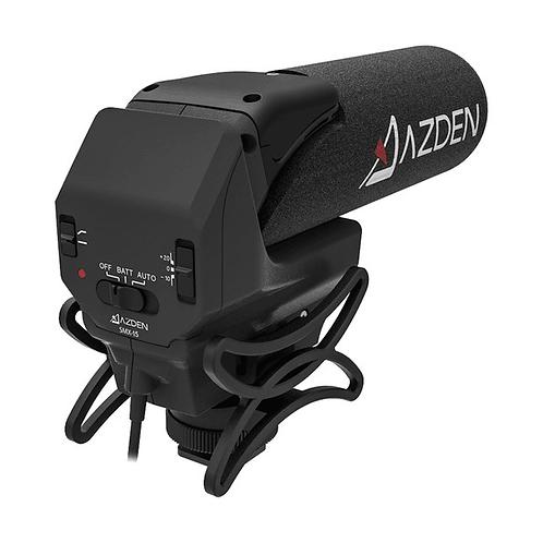 AZDEN SMX-15 POWERED VIDEO MICROPHONE