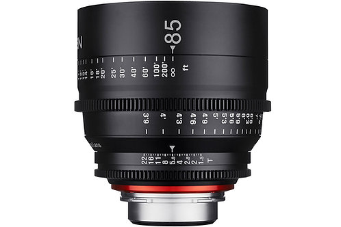 Samyang XEEN 85mm T1.5 Pro Cine Lens for Canon (Feet)
