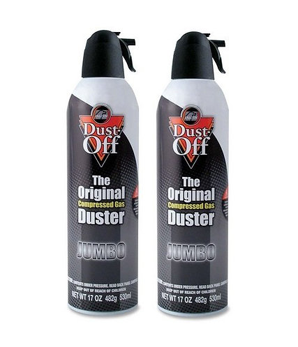 Falcon Dust-Off Jumbo 530ml Pack of 2