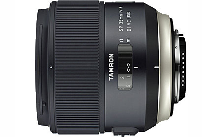 Tamron F012 SP 35mm f/1.8 Di USD Lens for Canon / Nikon / Sony