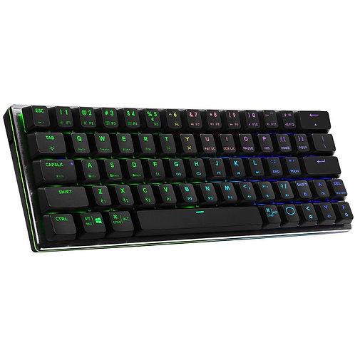 Cooler Master SK622 RGB Bluetooth/Wireless Keyboard - Space Grey, Brushed