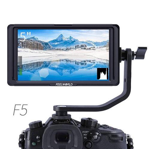 FEELWORLD F5.5 INCH DSLR ON CAMERA MONITOR - SMALL HD / 4K