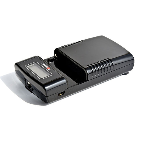 Soshine M20-LCD Universal Intelligent Li-Ion Battery Charger with LCD Display