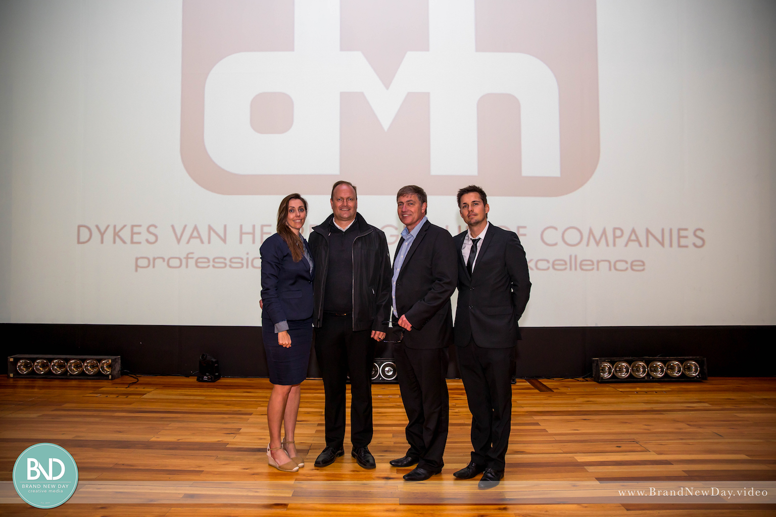 DVH Team at their recent roadshow.
