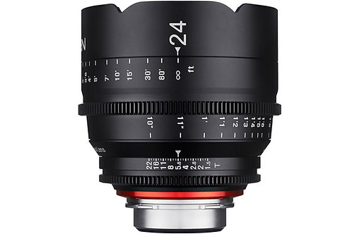 Samyang XEEN 24mm T1.5 Pro Cine Lens for Canon (Feet)