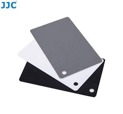 JJC Grey Card / White Balance Card  3-1 Small Set