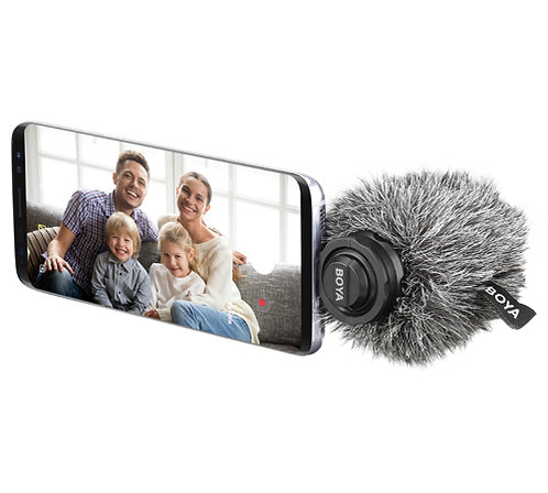 Boya BY-DM100 Digital Stereo Microphone with USB Type-C Connection for Android