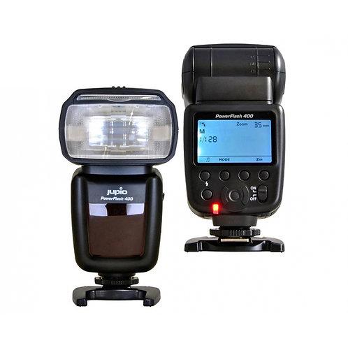 Jupio PowerFlash 400 for Canon, Nikon, Sony, Olympus, Fuji & Pentax