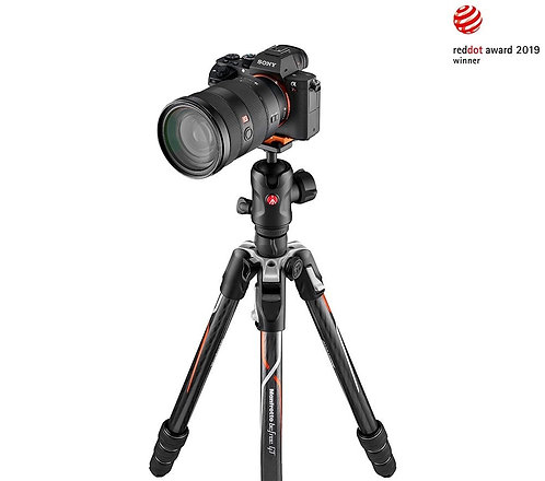 Manfrotto Befree GT Carbon Alpha Twist Tripod + Ball Head (for Sony)
