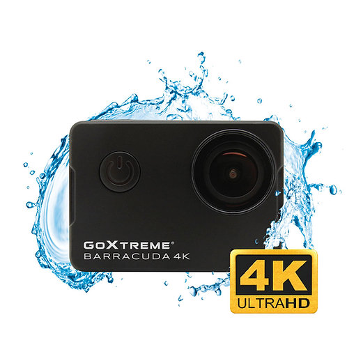 GoXtreme Barracuda 4K Action Camera + Underwater Housing