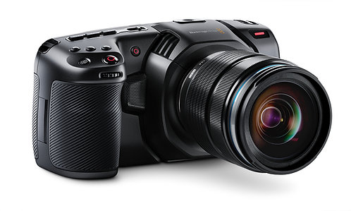 Blackmagic Pocket Cinema Camera 4K (MFT mount, body only)