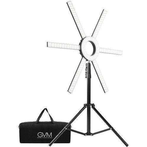 GVM-600S LED Ring Light Live Broadcasting Lamp