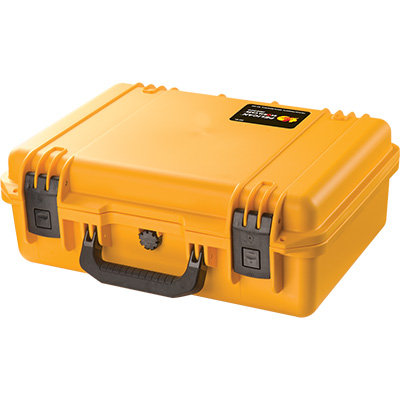 Pelican Storm iM2300 Yellow Case with Cubed Foam