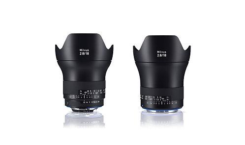 Zeiss Milvus 2.8/18 Super Wide Angle Lens ZE-mount / ZF.2-mount