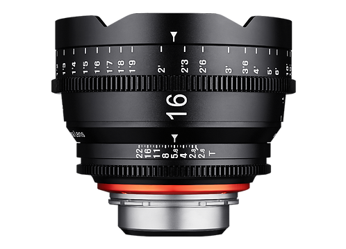 Samyang XEEN 16mm T2.6 Pro Cine Lens for PL (Feet)