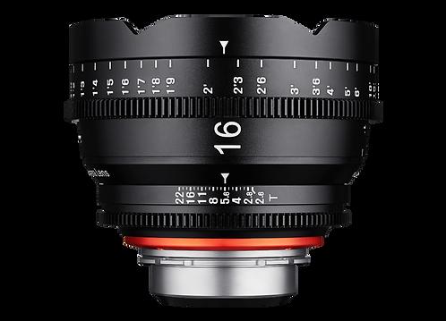 Samyang XEEN 16mm T2.6 Pro Cine Lens for PL (Feet)