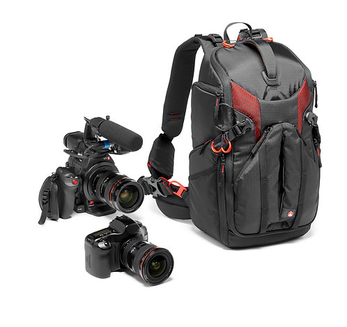 Manfrotto MB PL-BP-R Pro Light Backpack RedBee-210