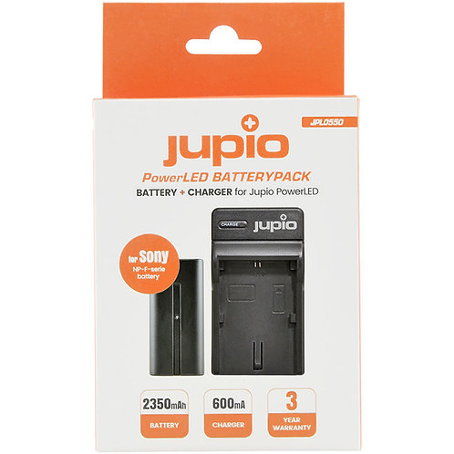 Jupio PowerLED NP-F550 Battery Pack & Charger