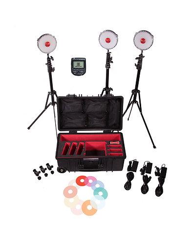 Rotolight NEO 2   3 Light Kit HSS Transmitter Bundle