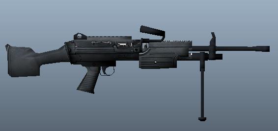 dignitas | M249 Light Machine Gun