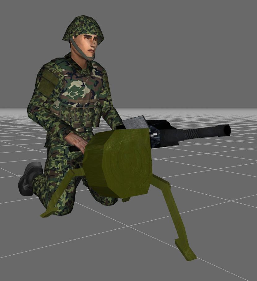 AGS-17_kneeling