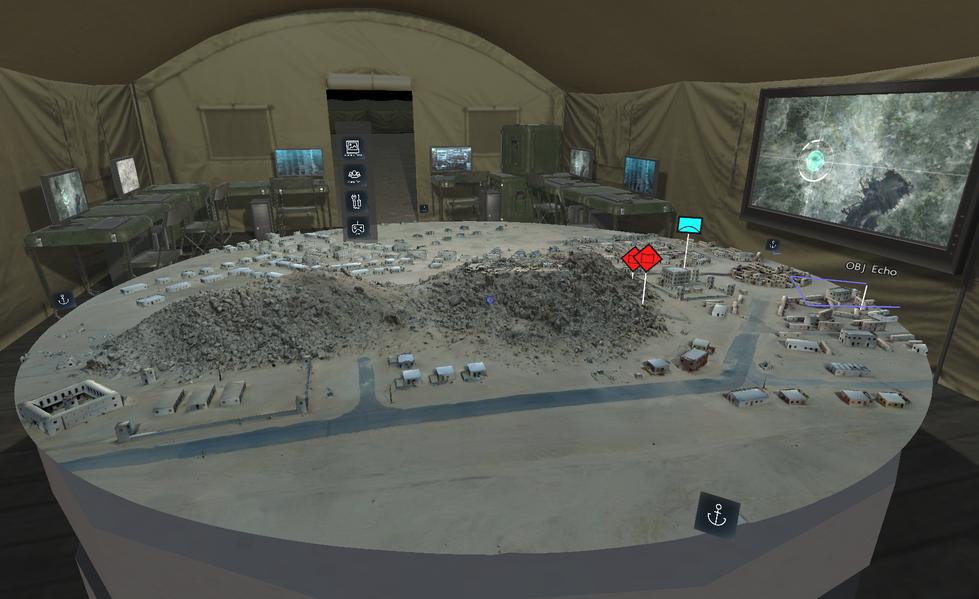 ARES Command Room TOC - NTC Razish - Pan