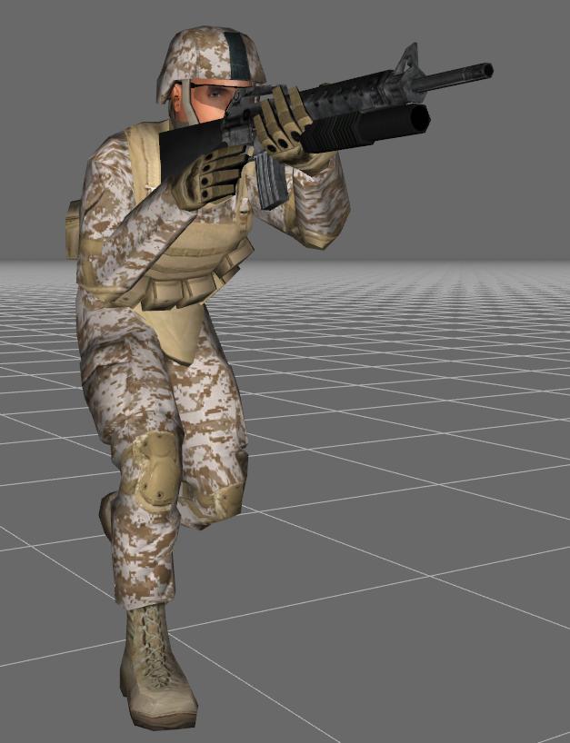 M16A2M203_crouching