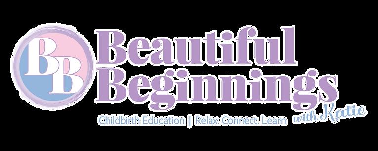 Beautiful Beginnings with Katie Full Logo
