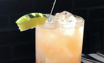 Takin' Care A Business Lunazul Blanca tequila, jalapeño & mandarin, lime juice