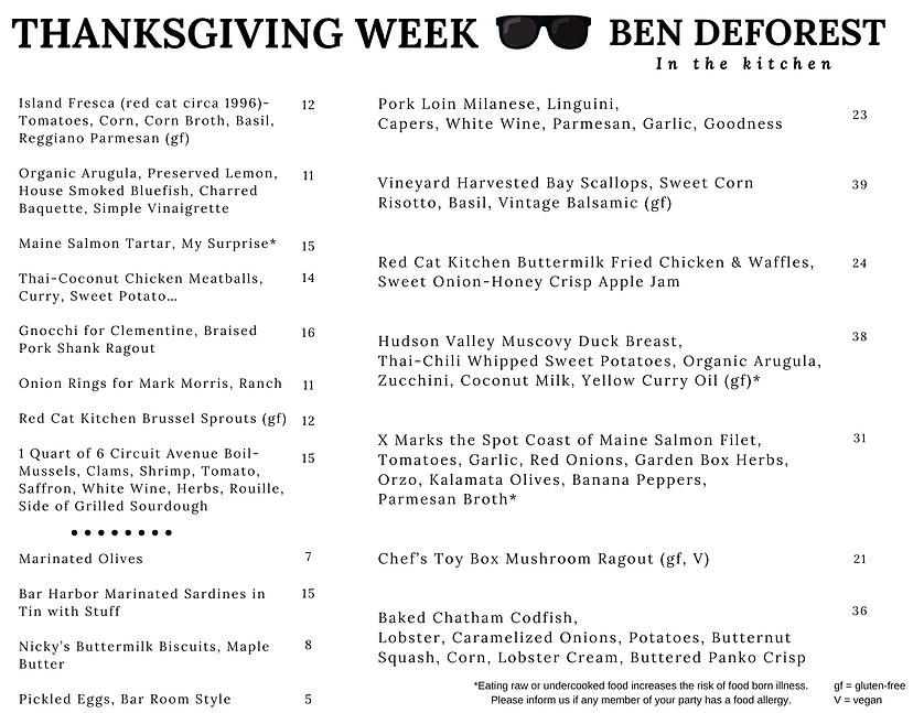 Ben Thanksgiving Week Menu.png