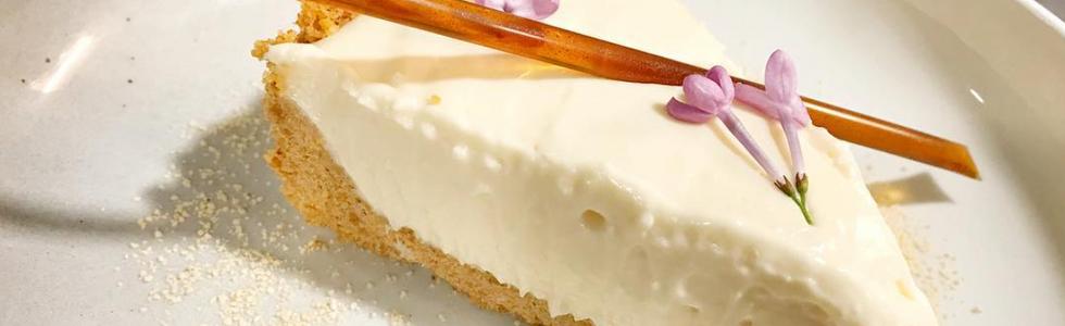Honey & Lilac Cheesecake