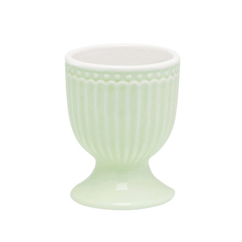 egg cup Alice pale green Greengate