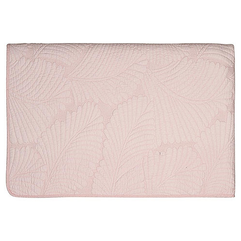 colcha  Maggie pale pink Greengate