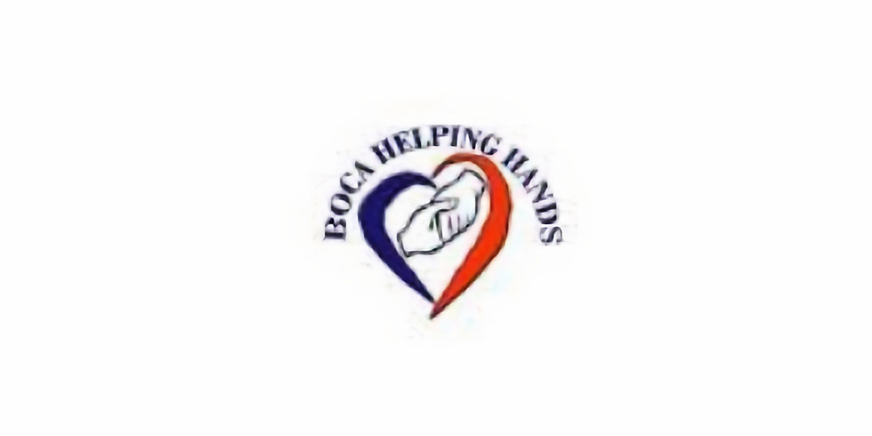 Volunteering at Boca Helping Hands BHH ID# 2415