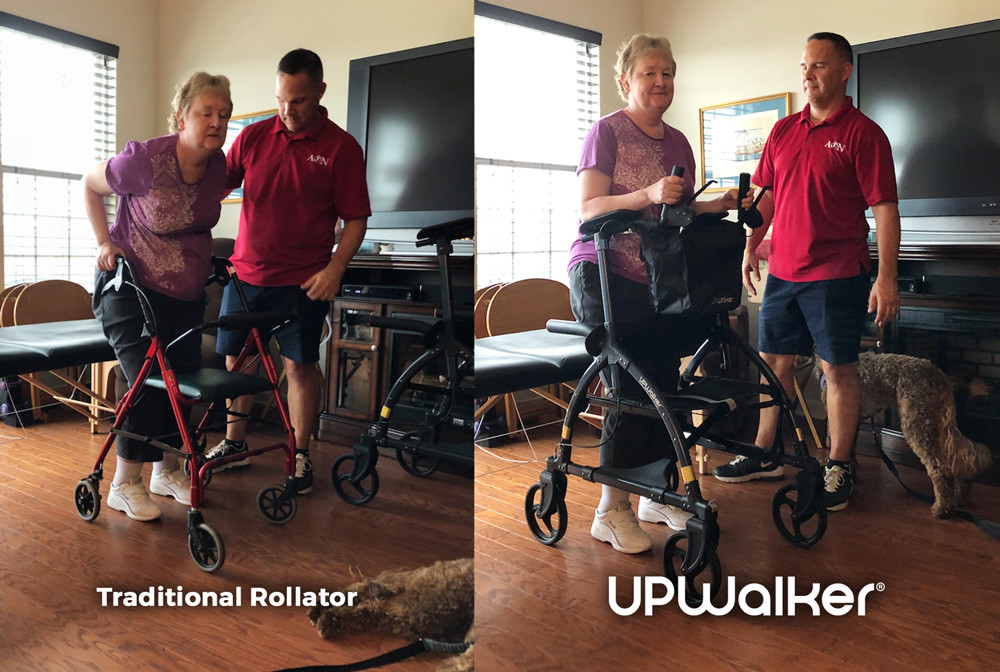 Susan suffers from MS and found walking relief with the UPWalker!