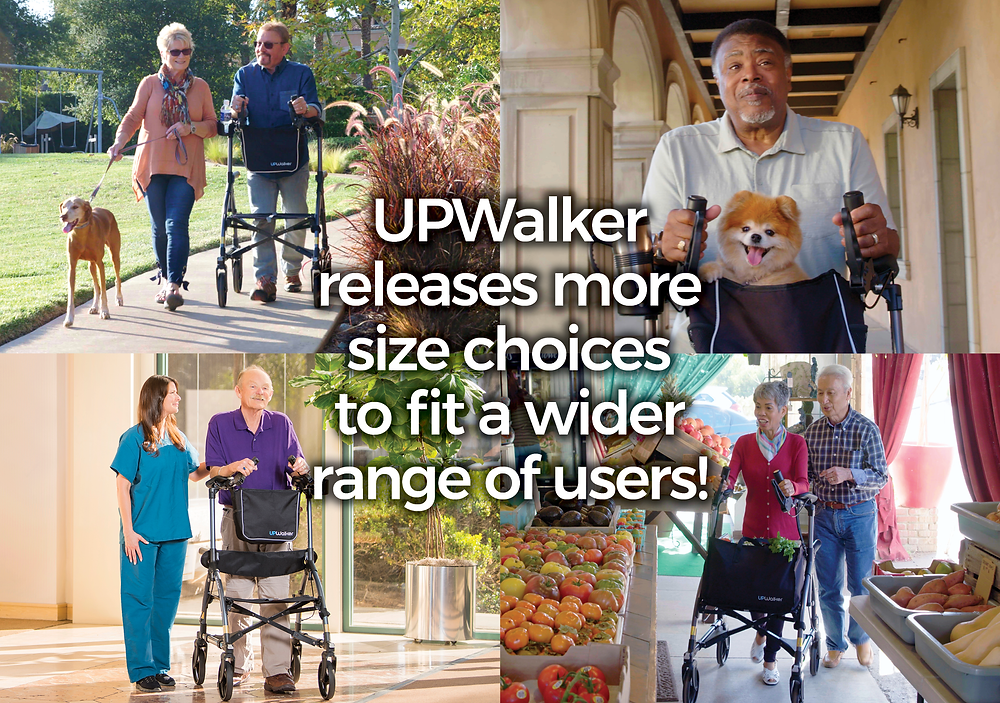 UPWalker releases new sizes to fit a wider range of users!