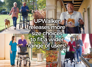UPWalker Releases Two New Size Choices to Fit a Wider Range of Users