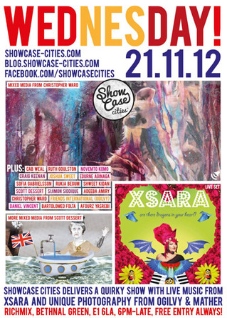 Showcase-cities, RichMix, London, 21st Nov 2012