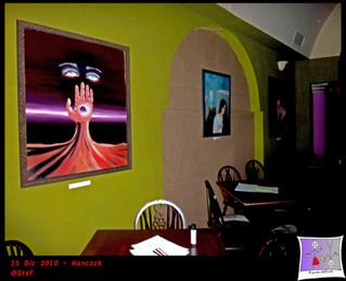 Surrealist Art Exhibition, Hancock, Cagliari, 15th Dec 2010