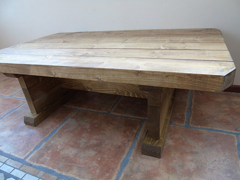 Rustic Style Handmade Vintage Coffee Table Rgwoodwork