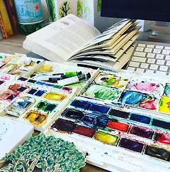 Need a bigger desk! #parndonmill #waterc
