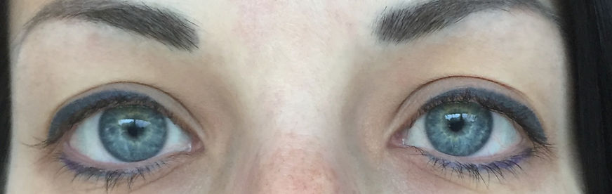 Client #2 - Before Eyelash Extensions