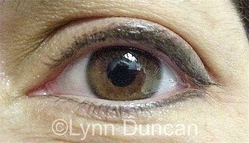 Client #10 - After Permanent Makeup Eyeliner #2