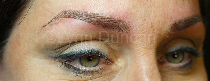 Client #3 - After Permanent Makeup Eyebrows #2