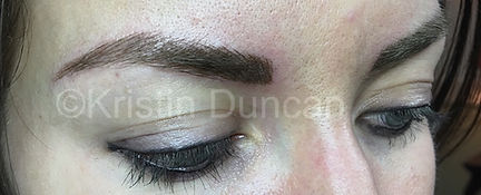 Client #10 - After Eyebrow Microblading