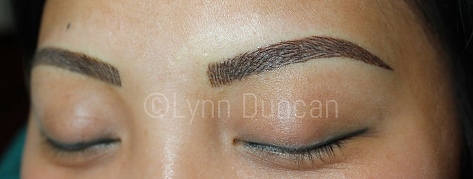 Client #11 - After Permanent Makeup Eyebrows #2